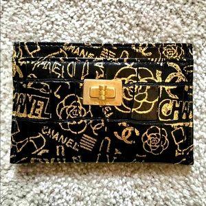 NEW Chanel *LMTDEDTN* COCOdile Graffiti Cardholder